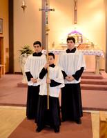 Grasso Brothers Serving Mass at St. Columbus