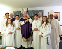 Cardinal Dolan, Mass celebrant at 50th Anniversary of  Church of St Aedan