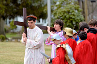 LIVING STATIONS OF THE CROSS AT ST. AEDAN